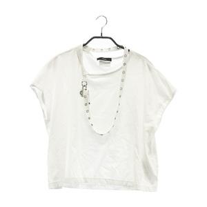 【即決】DIESEL ディーゼル 半袖Tシャツ ホワイト系 S [240001591829] レディース