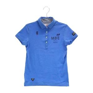 【即決】MASTER BUNNY EDITION マスターバニーエディション 2020年モデル 半袖ポロシャツ ブルー系 0 [240001598717] ゴルフウェア メンズ