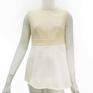 LOUIS VUITTON ルイヴィトン トップス ジップアップ ベージュ ホワイト アパレル 衣類 r559-13