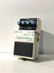BOSS◆DD-3/Digital Delay/日本製/PSA電源/デジタルディレイ