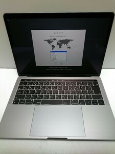 Apple◆MacBook Pro 13-inch、2017、Two Thunderbolt 3 Ports/8GB/HDD250G