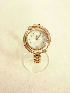 STAR JEWELRY◆THE EARTH WATCH -XMAS LIMITED-2020/クォーツ腕時計/アナログ/SLV/GLD