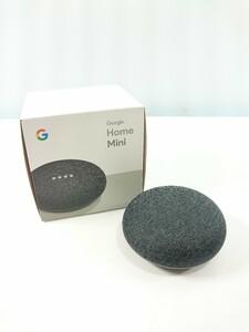 Google◆Bluetoothスピーカー Google Home Mini [チャコール]/グーグルホームミニ