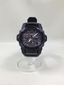 CASIO◆GS-1400B-1AJF/ソーラー腕時計・G-SHOCK/アナログ/BLK