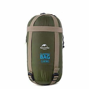 目玉 Naturehike Mサイズ1人用寝袋 封筒型 軽量 保温 連結可能 防水シュラフ コンパクト アウトドア キャンプ 登山