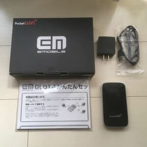 モバイルWiFiルータ イーモバイル GL01P