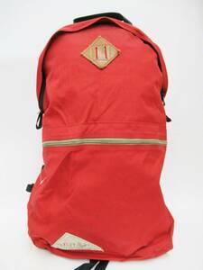 KELTY ケルティ 25641911RD ナイロン キャンバス デイパック リュックサック リュック バックパック BAG バッグ 鞄 かばん レッド 赤