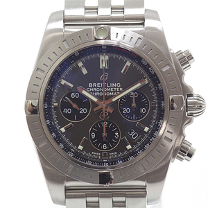 BREITLING ブライトリング メンズ腕時計 クロノマット44 AB0115101F1A1 B01ムーブメント グレー文字盤【中古】