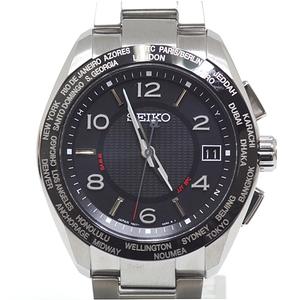 SEIKO セイコー メンズ腕時計 ブライツ SAGZ107 20周年記念限定モデル ブラック(黒)文字盤【中古】