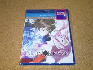 新品BD★ギルティクラウン 全22話 ブルーレイ 北米版[PS3,4再生可]検索:GUILTY CROWN
