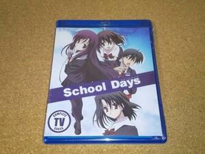 新品BD★スクールデイズ School Days 全12話+OVA ブルーレイ 北米版[国内プレイヤー視聴可]