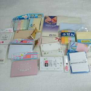 a5 新品 未使用品 まとめて 大量 詰め合わせ 付箋 メッセージカード メモ帳 貼って剥がせるメモ 文房具 雑貨 事務用品