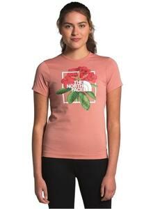 ★海外限定レア★日本未入荷★ノースフェイス TシャツW's Sサイズ 高山植物 ソロキャンプ プレゼントにも