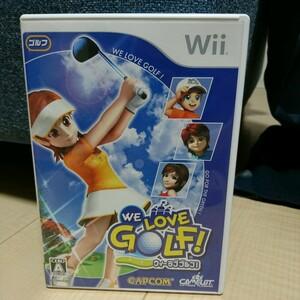 Wii WE LOVE GOLF! Wiiソフト 任天堂 任天堂Wii