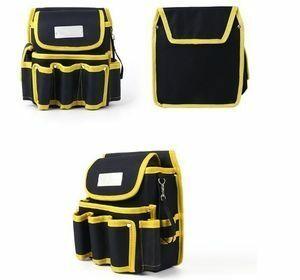 工具腰袋 ウエストポーチ ツールバッグ 工具差し 工具 収納 多機能 ウエストハンギングバッグ 工具入れ DIY 道具箱 LH256