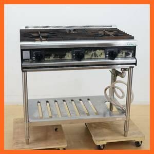 【タニコー】業務用 3口 ガステーブル TT0921 プロパンガス LPガス 幅約90cm 高さ約91cm 厨房機器 飲食店