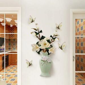 (NO.322)DIY剥がせる壁飾りウォールステッカー綺麗な仕上がり 花瓶