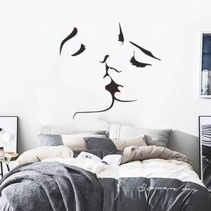 (NO.336)DIY剥がせる壁飾りウォールステッカー綺麗な仕上がり ラブラブ