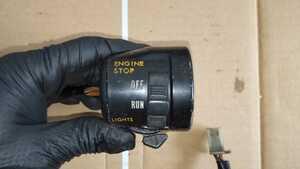 Z250FT 右ハンドルスイッチ (検索) CB250T GSX250E GS400 CBX400F CB400F GT380 Z400FX RZ250 KH400 旧車 当時物