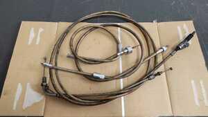 Z250FT ワイヤーセット アクセルワイヤー (検索) CB250T GSX250E GS400 CBX400F CB400F GT380 Z400FX RZ250 KH400