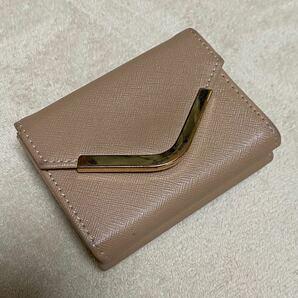 三つ折財布 ブラウン 財布