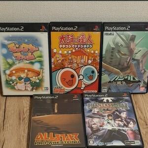 PS2ソフト 41本まとめ売り (ウイニングイレブンシリーズ、太鼓の達人入り)PS2ソフト PS2 ゲームソフト