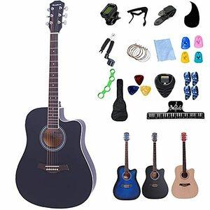 大好評 Rosefinch アコースティックギター 41インチ 初心者セット 15点 ギター アコギ フォークギター 初心者 入門