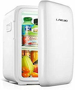 【最新版】小型冷蔵庫 ミニ冷蔵庫 冷温庫 10L 保冷 保温 家庭 車載両用 ポータブル コンパクト AC DC 電源輸入 1ド