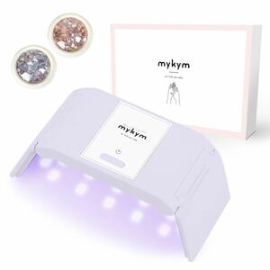 ネイルドライヤー 日本語説明書 mykym正規品 White