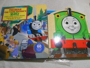 洋書・大判【機関車トーマス2冊+ドクタースース】Thomas the Tank Engine's Big Lift-And-look Book・Percy・Dr. SeussしかけPops Up