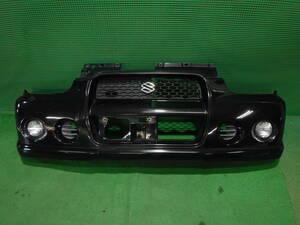 ■アルトワークス HA12S フロントバンパー 黒 左右フォグ付き
