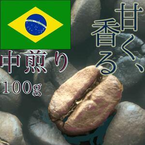 [豊かな生活へ]ブラジル産コーヒー豆100g 無添加