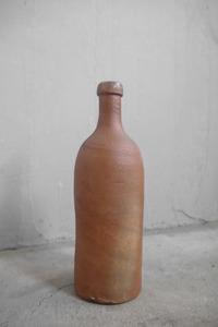 アンティーク フランス 陶器 瓶 C ビン 店舗什器