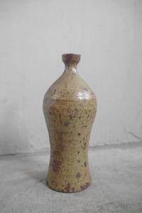 アンティーク フランス 陶器 瓶 B ビン 店舗什器