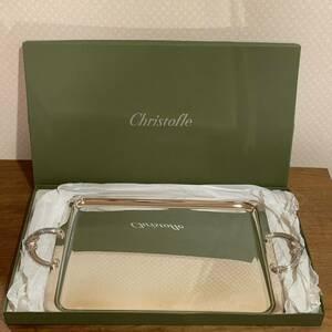 レア 良品 Christofle クリストフル 大型 トレイ トレー 53cm シルバー コレクション 食器 送料無料