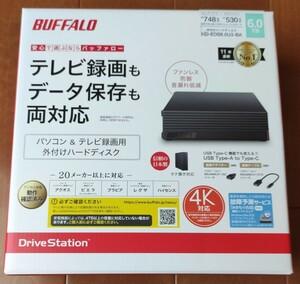 新品未開封品 外付けHDD 外付けハードディスク BUFFALO バッファロー