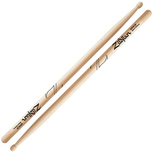 147418 ZILDJIAN LAZLZS5B Hickory Series SUPER 5B WOOD NATURAL DRUMSTICK ドラムスティック