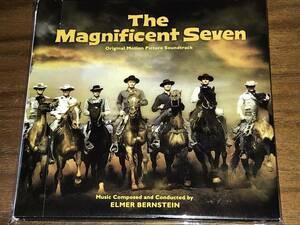 送料込み エルマー・バーンスタイン 荒野の七人 オリジナル・サウンド・トラック 紙ジャケット 即決