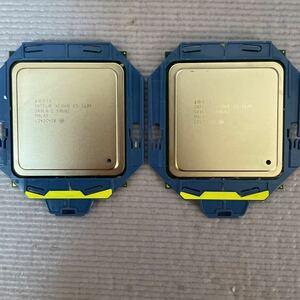 Intel インテル Xeon E5-2609 2個セット