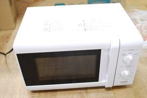 【ジャンク品、不良返品分】YAMAZEN ヤマゼン YRB-177(W)5 [電子レンジ ターンテーブルタイプ 横開き 17L ホワイト 50Hz(東日本地域対