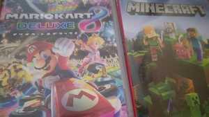 マリオカート8デラックス Minecraft マインクラフト ニンテンドースイッチソフト Nintendo Switch 新品未開封