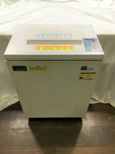 [ working properly goods ]na hippopotamus cocos nucifera shredder N-206E business use shredder liquid crystal display height small . ability Nakabayashi with casters