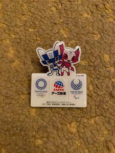 【非売品】東京オリンピック・パラリンピック ピンバッジ TOKYO2020