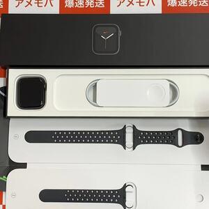 爆速発送 Apple Watch Nike Series6 44mm GPS+CEL M09Y3J/A スペースグレイアルミケース・ブラックNikeスポーツバンド