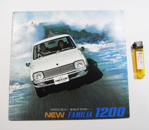 O1/カタログ マツダ NEW ファミリア1200 当時物 /昭和/旧車/2