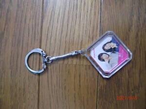 Розовый держатель ключа леди C