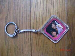 Розовый держатель ключа леди D