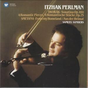 [CD/Warner]ドヴォルザーク:ソナチネト長調Op.100&4つのロマンティックな小品Op.75他/I.パールマン(vn)&S.サンダース(p) 1983