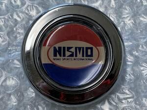 当時物♪ NISMO ニスモ ホーン ボタン トリコロール ステアリング ハンドル 日産 旧車 R30 R31 R32 フェアレディZ S30 Z31 Z32 S13 S14 S15