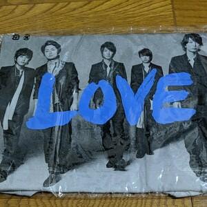 嵐 LOVE Tシャツ